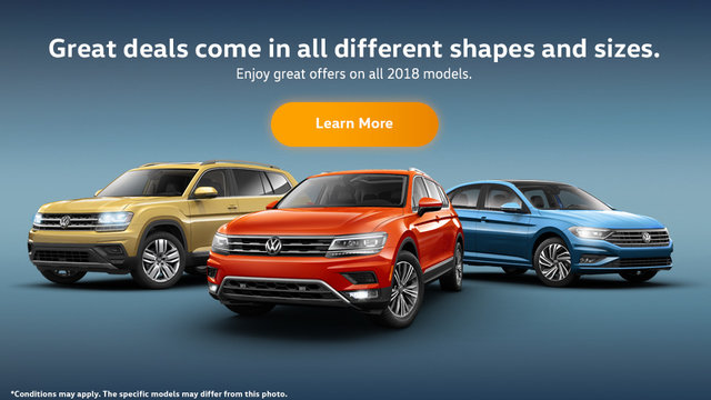 The Volkswagen monthly sales event! (Mobile)