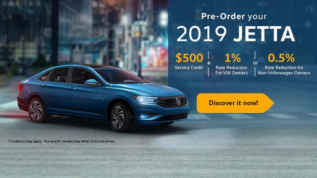 Pre-Order your New Jetta 2019 (mobile)