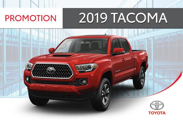 Toyota Tacoma 4X2 ACCESS CAB 6A 2019 - Rimouski Toyota in