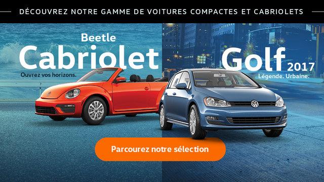 Découvrez notre gamme de voitures compactes et cabriolets (Mobile)
