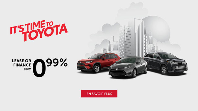 It's Time to Toyota (mobile)