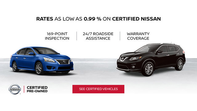 Nissan certified pre-owned vehicles (mobile)