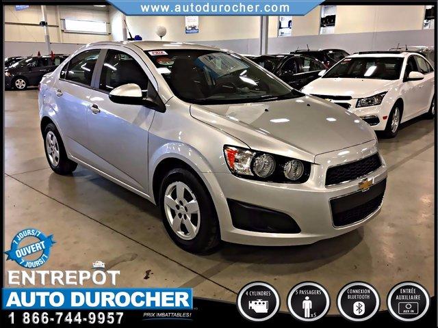 2012 Chevrolet Sonic ÉCONOMIQUE FINANCEMENT DISPONIBLE BAS KILOMÉTRAGE