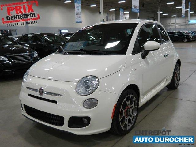 Fiat 500 Sport 2012 (Air Clim., Cuir, Mags)