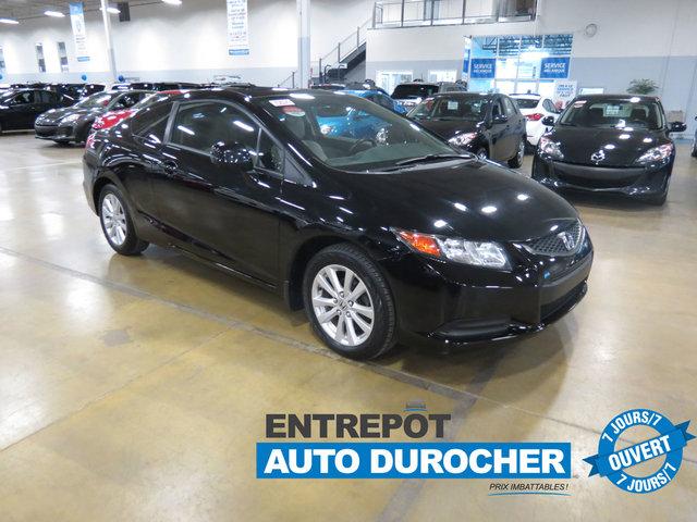 2012 Honda Civic Cpe EX/COUPÉ/MAGS/TOIT OUVRANT/TOUT ÉQUIPÉ