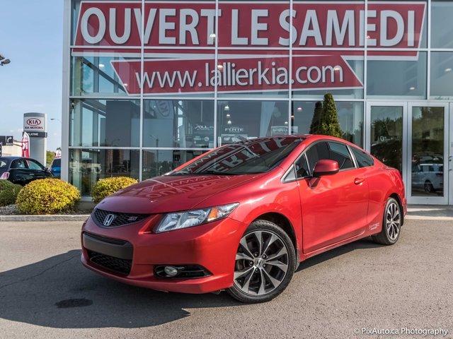2013 Honda Civic Cpe SI /  NAVI / TOIT
