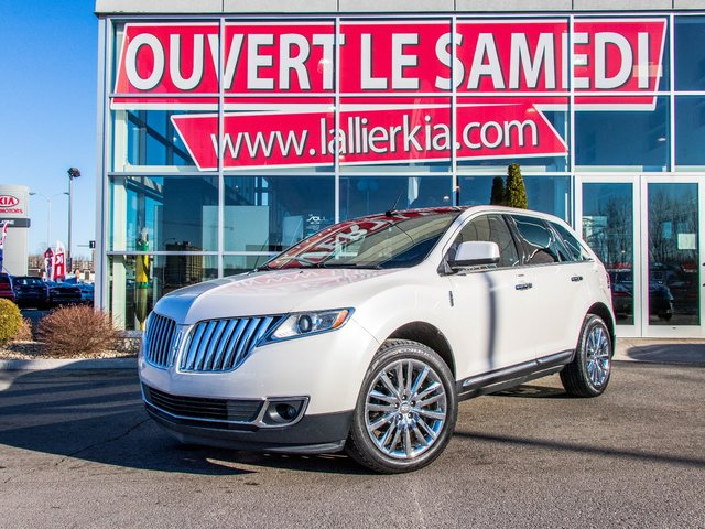 Lincoln MKX NAVI TOIT PANORAMIQUE 2011