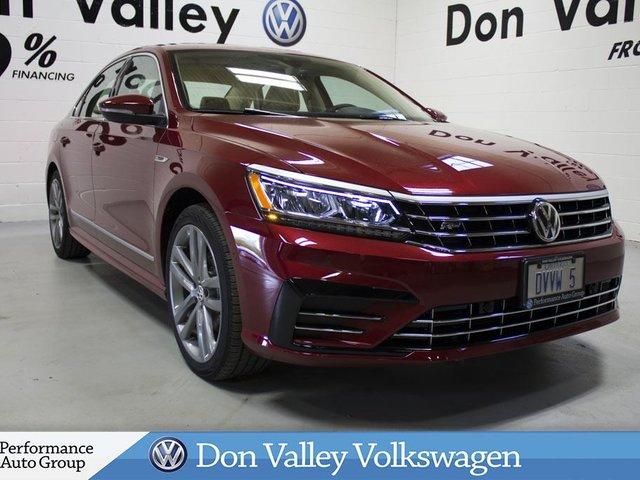 2017 Volkswagen Passat 1.8L AUTOMATIC. HIGHLINE R-LINE. CAMERA. NAVI