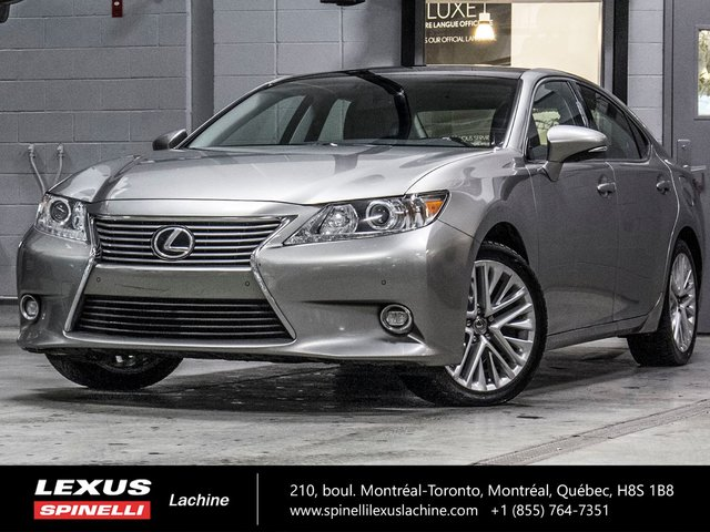 2015 Lexus ES 350 EXECUTIF; CUIR TOIT PANO GPS ANGLES MORTS LSS +