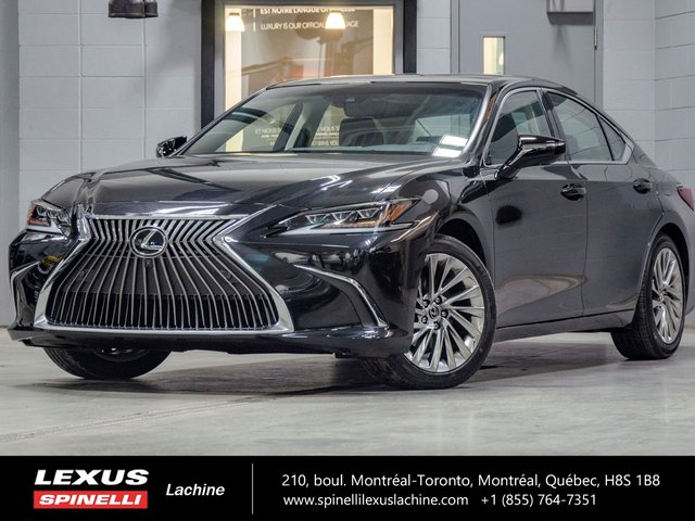 Lexus ES 350 ULTRA LUXE; CUIR TOIT PANO GPS AUDIO CARPLAY LSS+ 2019