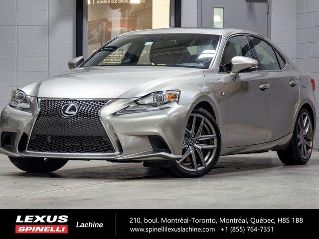 Lexus IS 300 F SPORT II AWD; CUIR TOIT GPS 2016