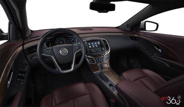 2016 Buick LaCrosse LEATHER | Photo 3 | Ebony/Sangria Semi-Aniline Perforated Leather