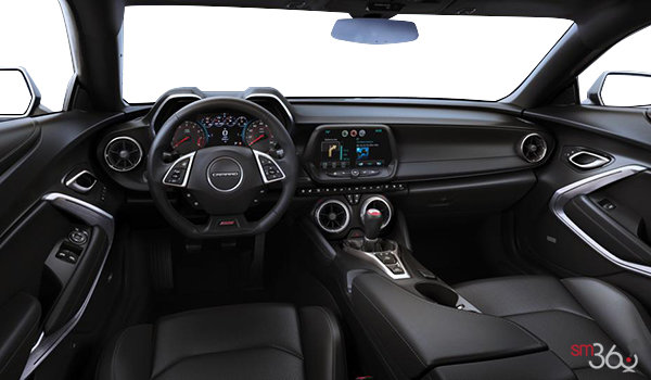 2016 Chevrolet Camaro coupe 2SS | Photo 3 | Jet Black Leather