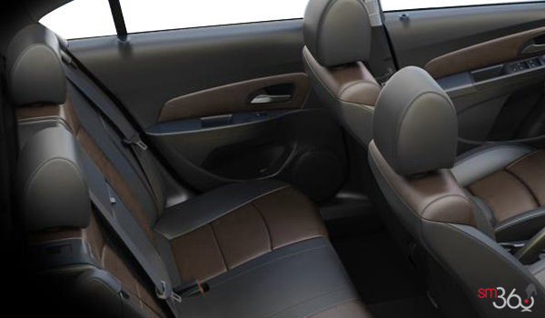2016 Chevrolet Cruze Limited LTZ   Photo 2   Jet Black/Brownstone Meridian Leather