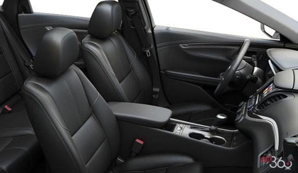 2016 Chevrolet Impala LTZ | Photo 1 | Jet Black Perforated Leather