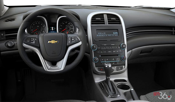 2016 Chevrolet Malibu Limited LS | Photo 3 | Jet Black/Titanium Premium Cloth