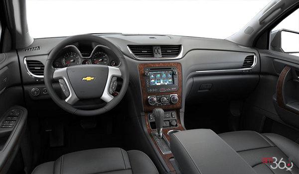 2016 Chevrolet Traverse LTZ | Photo 3 | Ebony Perforated Leather