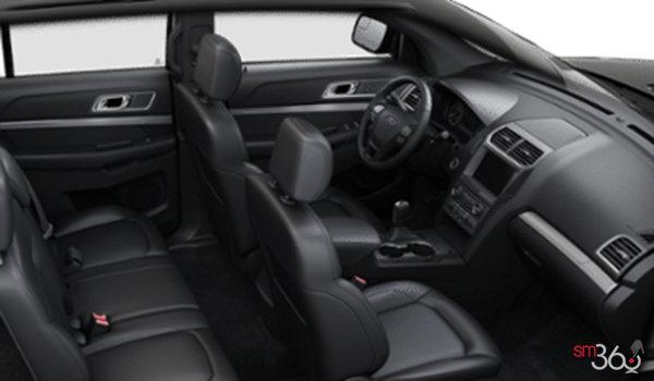 2016 Ford Explorer XLT   Photo 1   Ebony Black Leather