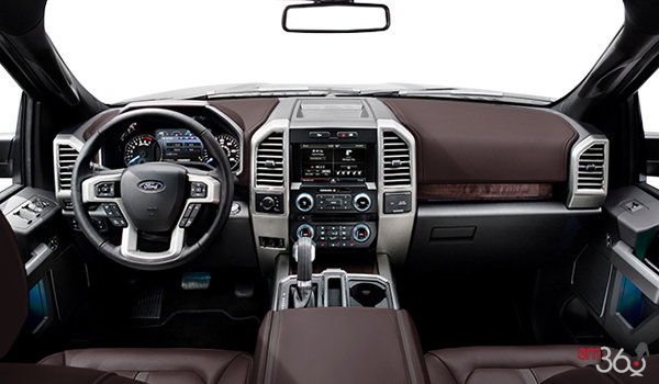 2016 Ford F-150 PLATINUM | Photo 3 | Brunello Leather