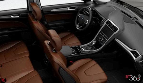 2016 Ford Fusion Hybrid TITANIUM | Photo 1 | Terracotta Leather/Black