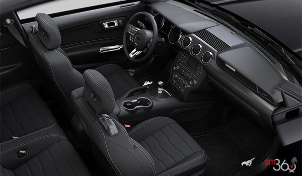 2016 Ford Mustang EcoBoost   Photo 1   Ebony Unique Cloth