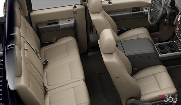 2016 Ford Super Duty F-350 LARIAT   Photo 2   Adobe Premium Leather