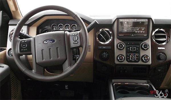 2016 Ford Super Duty F-350 LARIAT   Photo 3   Adobe Premium Leather