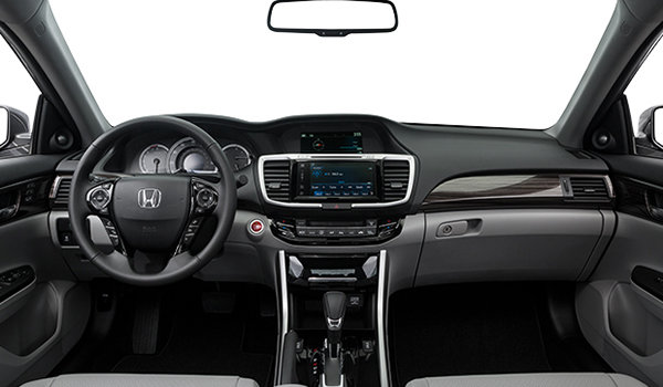 2016 Honda Accord Sedan EX-L   Photo 3   Grey Leather
