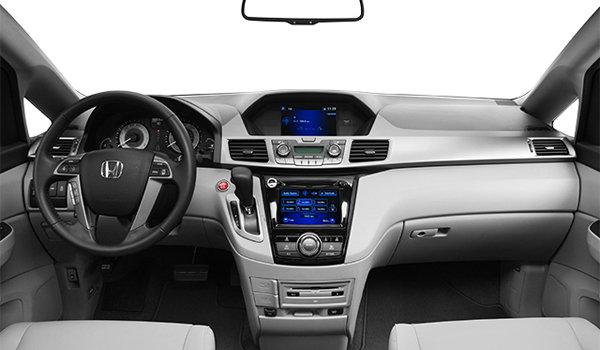 2016 Honda Odyssey EX-L RES   Photo 3   Grey Leather