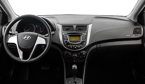 2016 Hyundai Accent 5 Doors LE   Photo 3   Black Cloth