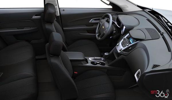 2017 Chevrolet Equinox LS   Photo 1   Jet Black Premium Cloth