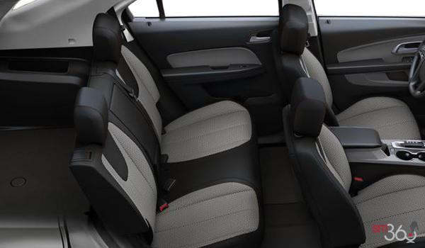 2017 Chevrolet Equinox LS   Photo 2   Light Titanium/Jet Black Premium Cloth