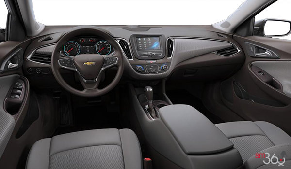 2017 Chevrolet Malibu LS | Photo 3 | Dark Atmosphere/Medium Ash Grey Premium Cloth