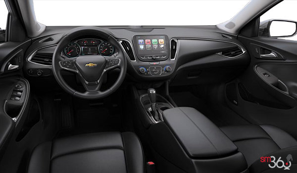 2017 Chevrolet Malibu LT | Photo 3 | Jet Black Leather