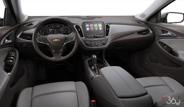 2017 Chevrolet Malibu PREMIER | Photo 3 | Dark Atmosphere/Medium Ash Grey Leather