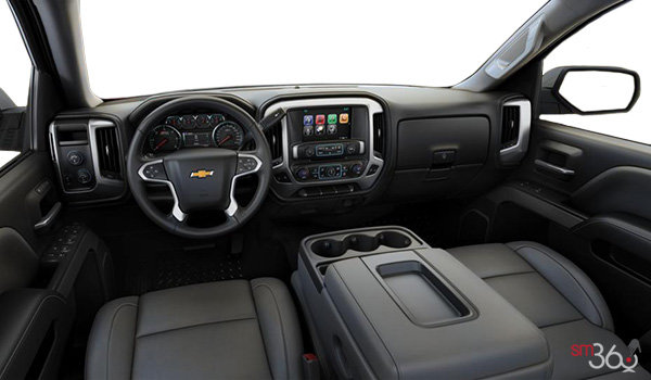 2017 Chevrolet Silverado 1500 LTZ Z71 | Photo 3 | Dark Ash/Jet Black Leather