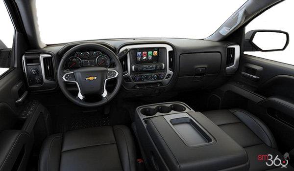 2017 Chevrolet Silverado 1500 LTZ Z71 | Photo 3 | Jet Black Leather