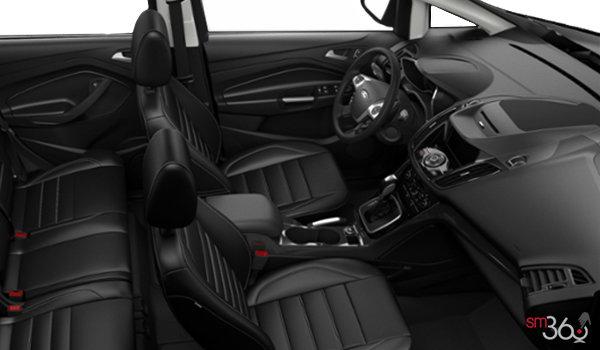 2017 Ford C-MAX ENERGI TITANIUM | Photo 1 | Charcoal Black Leather