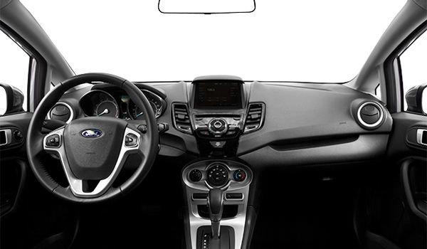 2017 Ford Fiesta Sedan SE | Photo 3 | Charcoal Black Unique Cloth Bolster w/Silver Seat Stitching
