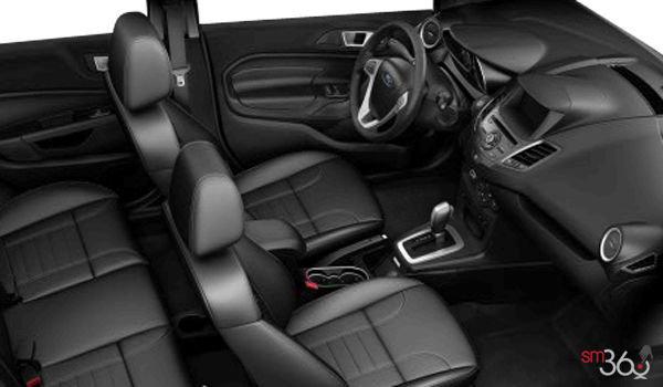 2017 Ford Fiesta Sedan TITANIUM | Photo 1 | Charcoal Black Leather