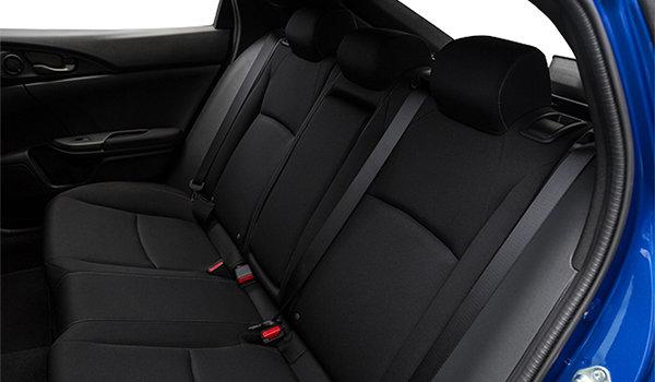 2017 Honda Civic hatchback LX   Photo 2   Black Fabric