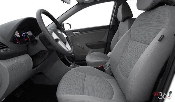 2017 Hyundai Accent Sedan LE | Photo 1 | Grey Cloth