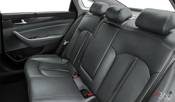 2017 Hyundai Sonata Hybrid LIMITED | Photo 2 | Grey Leather