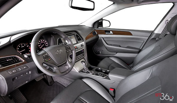 2017 Hyundai Sonata LIMITED | Photo 1 | Black Leather