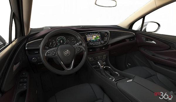 2018 Buick Envision Premium II | Photo 3 | Ebony/Dark Plum Accent Perforated Leather (AR9-HHF)
