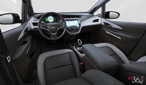 2018 Chevrolet Bolt Ev LT | Photo 3 | Dark Galvanized/Sky Cool Grey Deluxe Cloth (HO2-AR7)