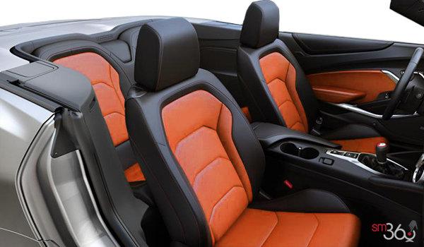 2018 Chevrolet Camaro convertible 2LT   Photo 1   Jet Black Leather with Orange Inserts (HUZ-A50)