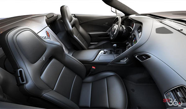 2018 Chevrolet Corvette Convertible Stingray 1LT | Photo 1 | Jet Black GT buckets Perforated Mulan leather seating surfaces (191-AQ9)