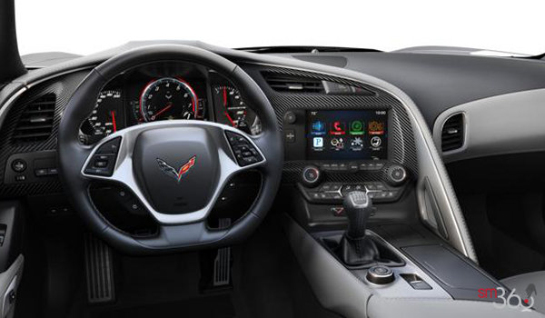2018 Chevrolet Corvette Convertible Stingray 2LT | Photo 3 | Grey Competition Sport buckets Perforated Mulan leather seating surfaces (143-AE4)