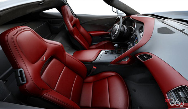 2018 Chevrolet Corvette Coupe Stingray 3LT | Photo 1 | Spice Red GT buckets Perforated Napa leather seating surfaces (755-AQ9)